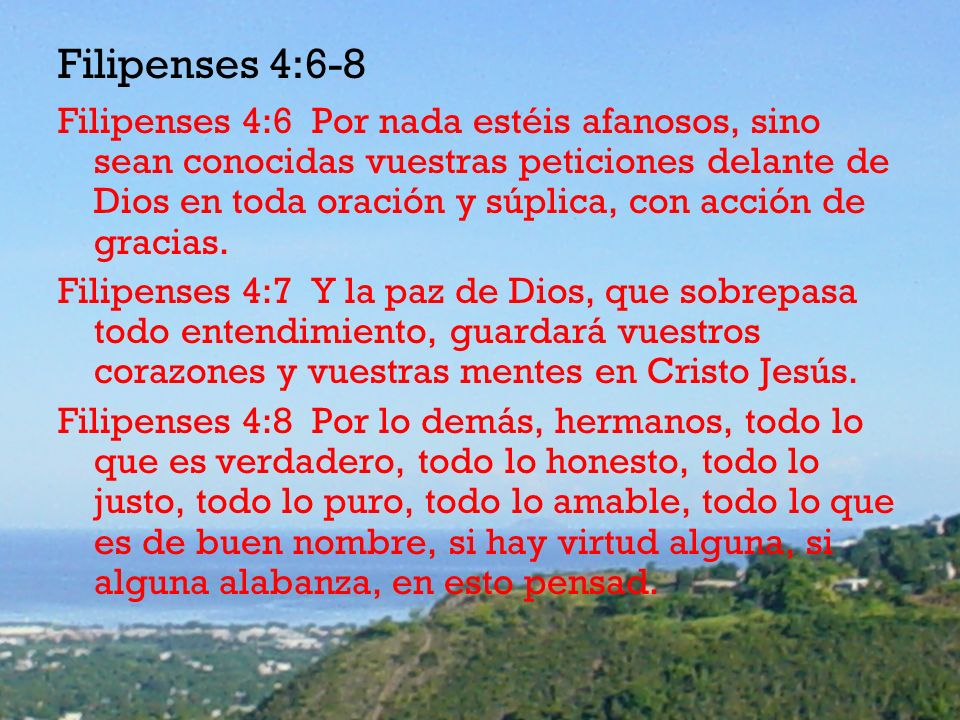 Filipenses 4:6-8