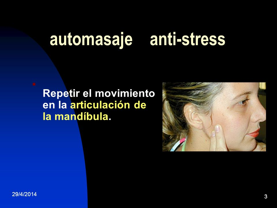 automasaje anti-stress