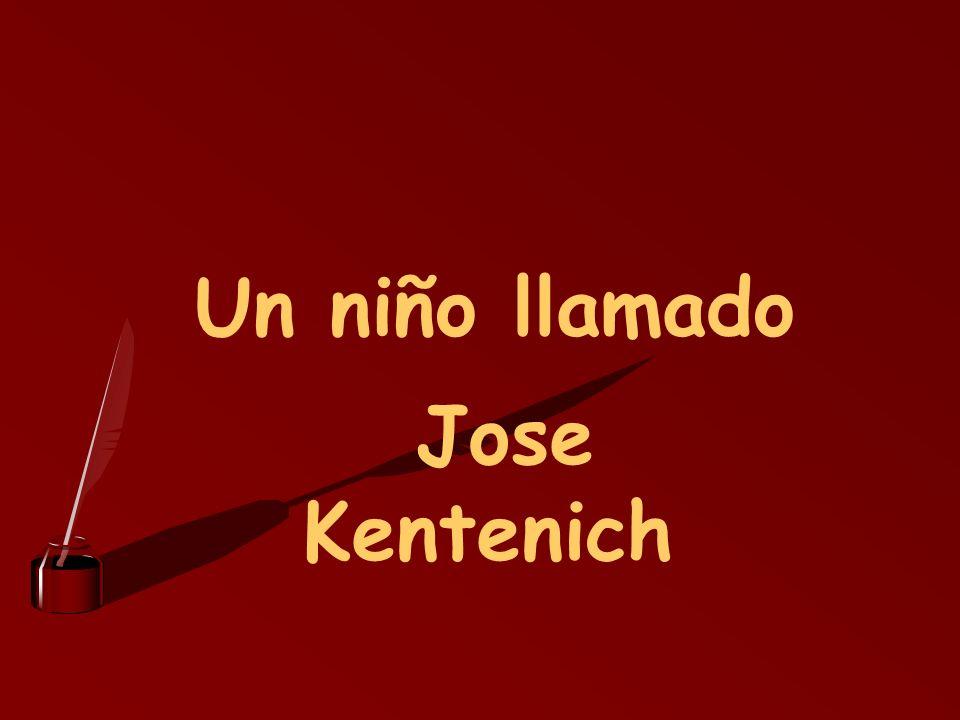 Un niño llamado Jose Kentenich