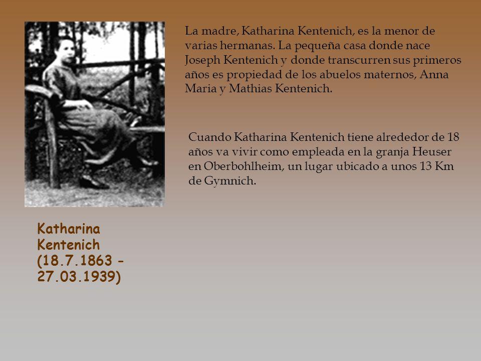 Katharina Kentenich (18.7.1863 - 27.03.1939)