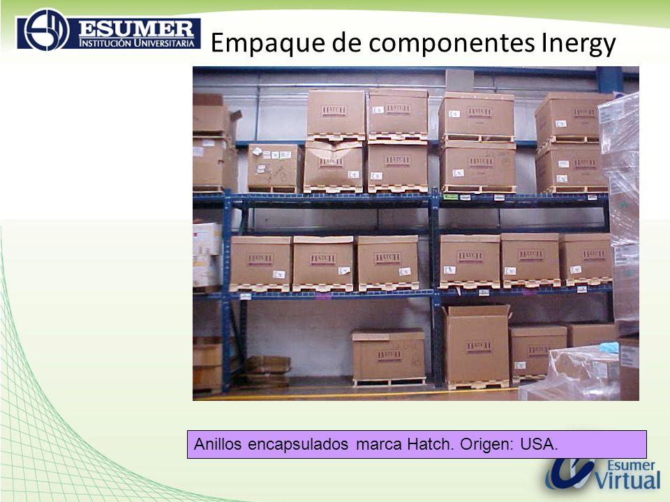 Empaque de componentes Inergy