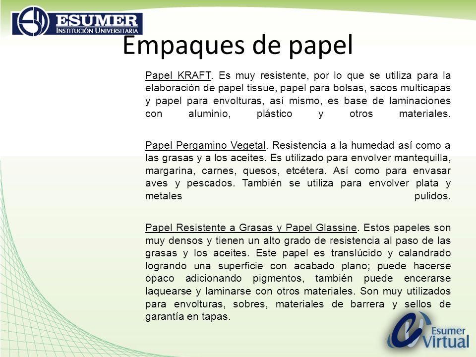 Empaques de papel