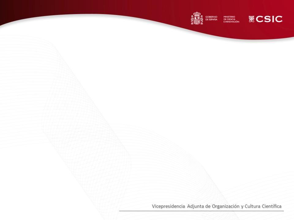 Vicepresidencia Adjunta de Organización y Cultura Científica