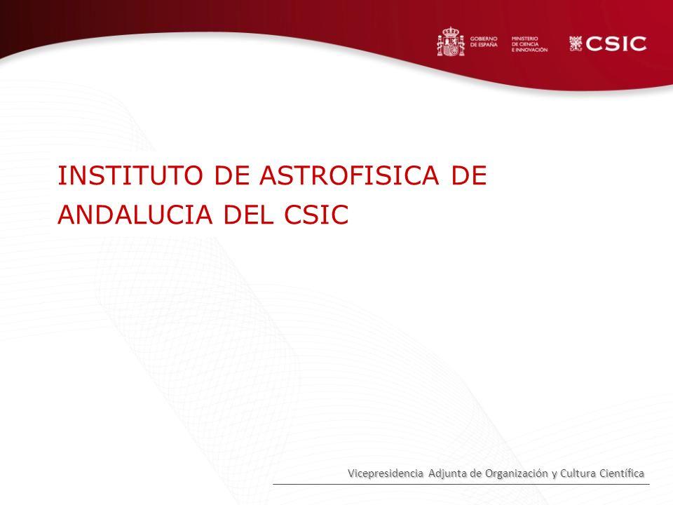 INSTITUTO DE ASTROFISICA DE ANDALUCIA DEL CSIC