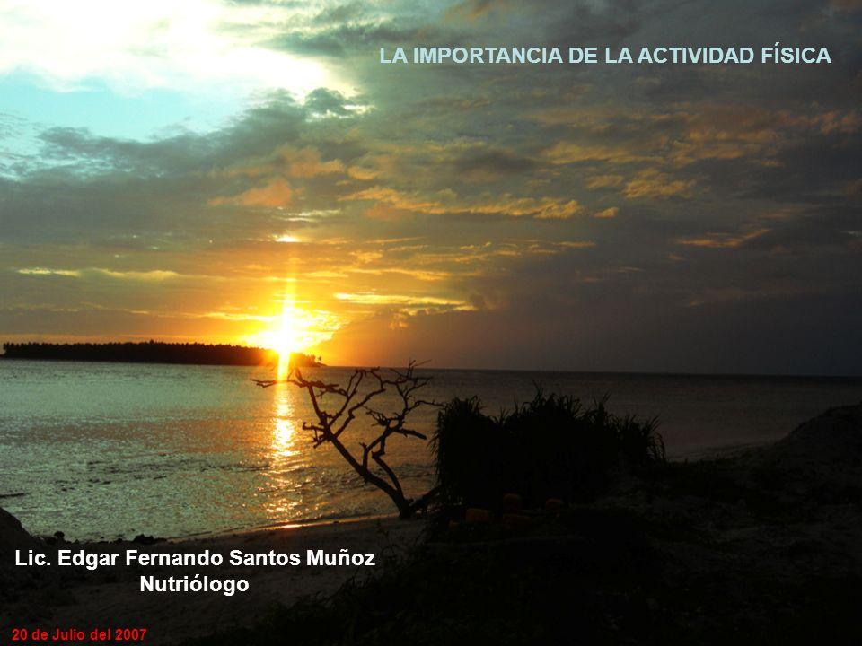Lic. Edgar Fernando Santos Muñoz
