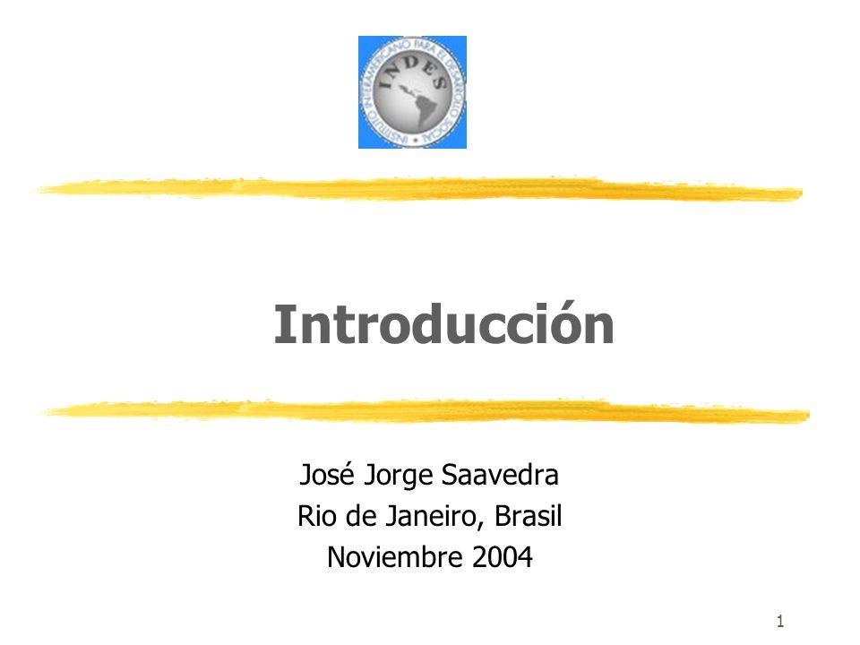 José Jorge Saavedra Rio de Janeiro, Brasil Noviembre 2004