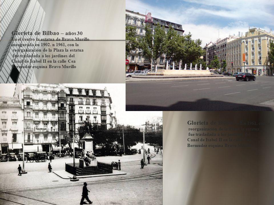 Glorieta de Bilbao – años 30