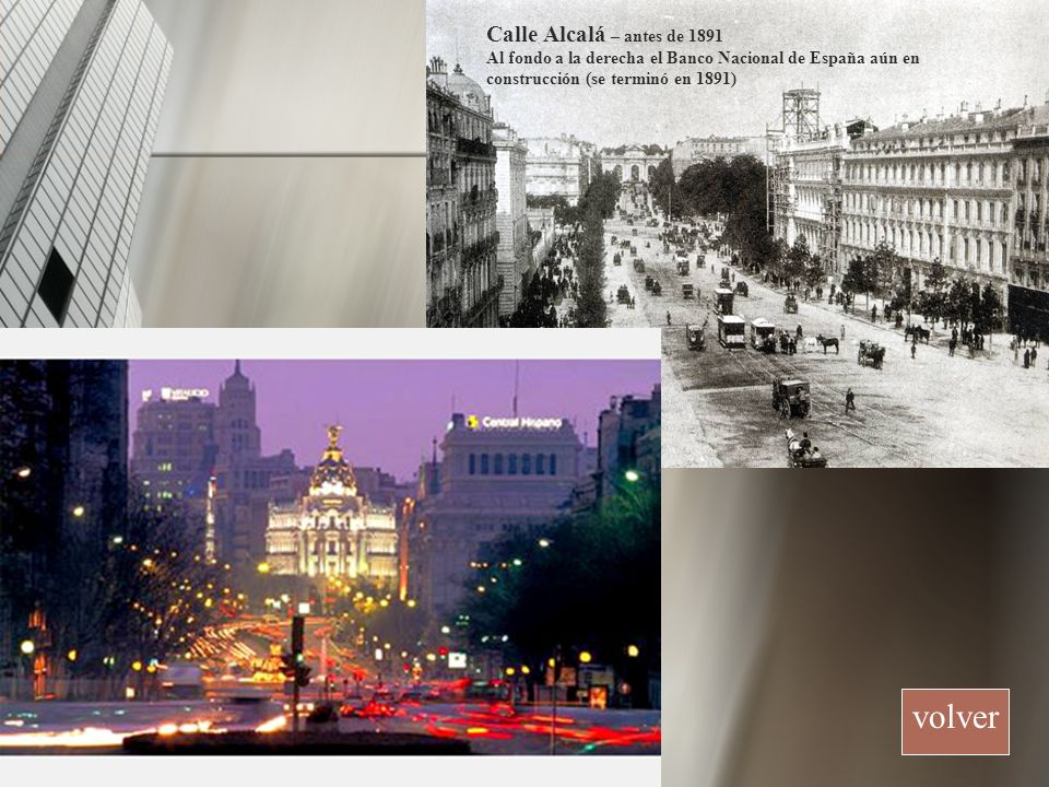 volver Calle Alcalá – antes de 1891