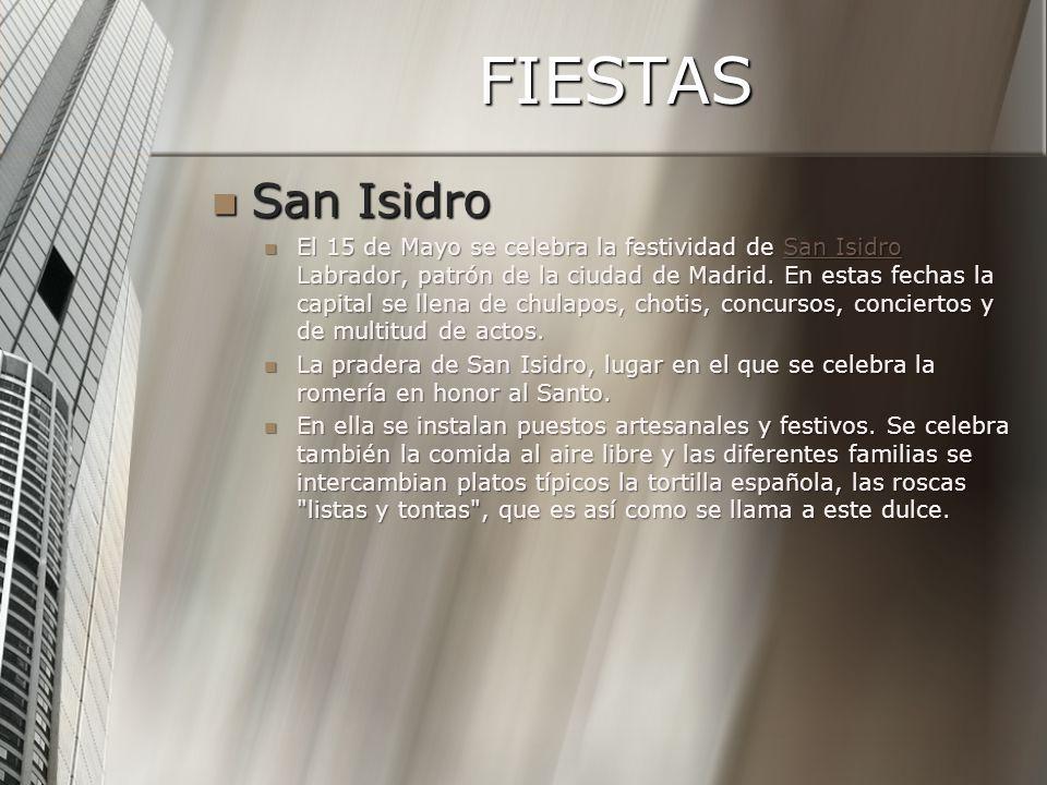 FIESTAS San Isidro.