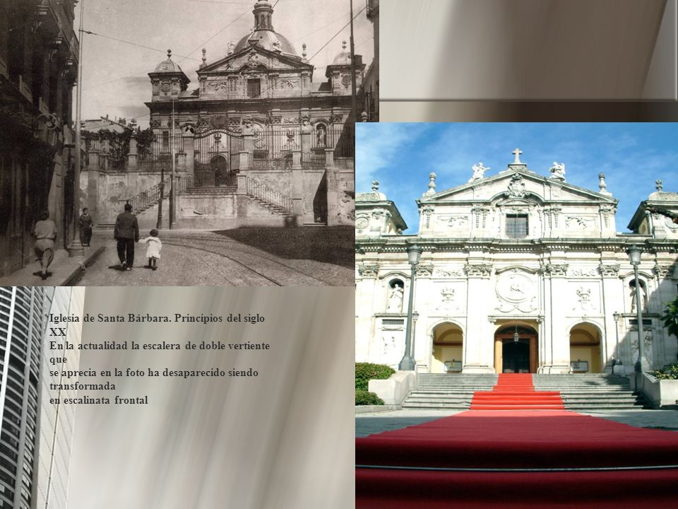 Iglesia de Santa Bárbara. Principios del siglo XX