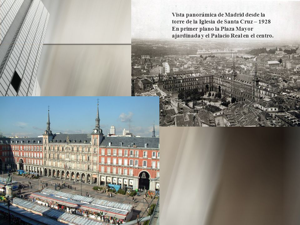 Vista panorámica de Madrid desde la torre de la Iglesia de Santa Cruz – 1928