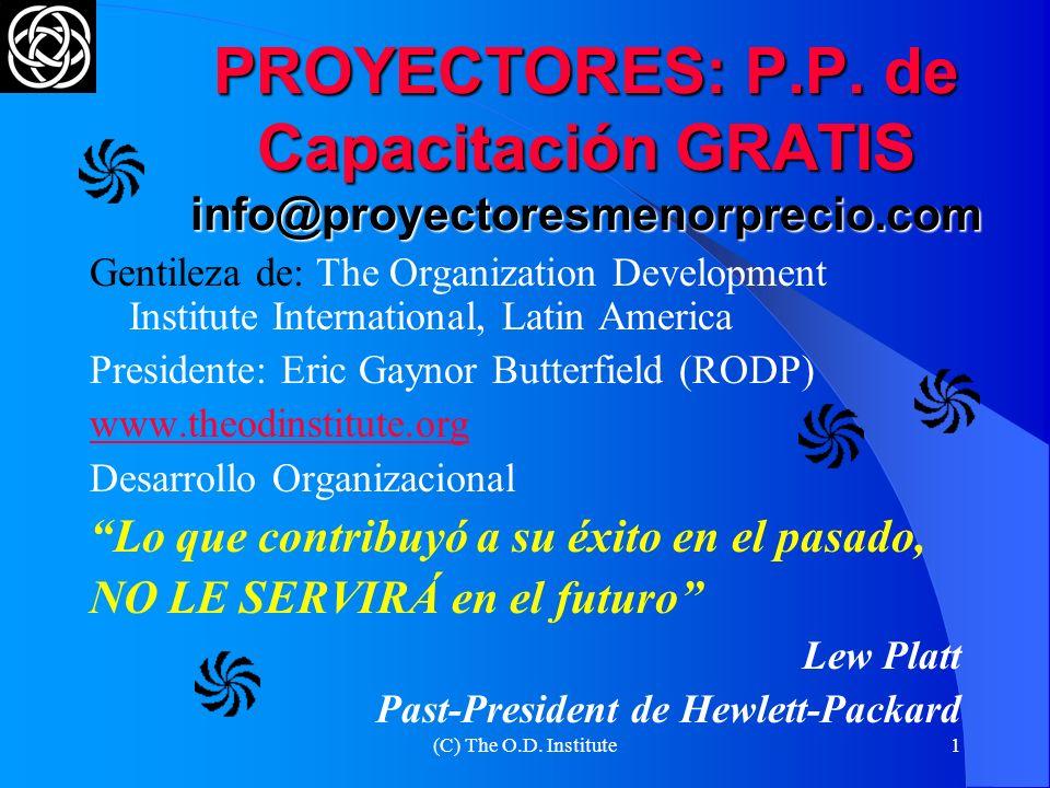 PROYECTORES: P. P. de Capacitación GRATIS info@proyectoresmenorprecio