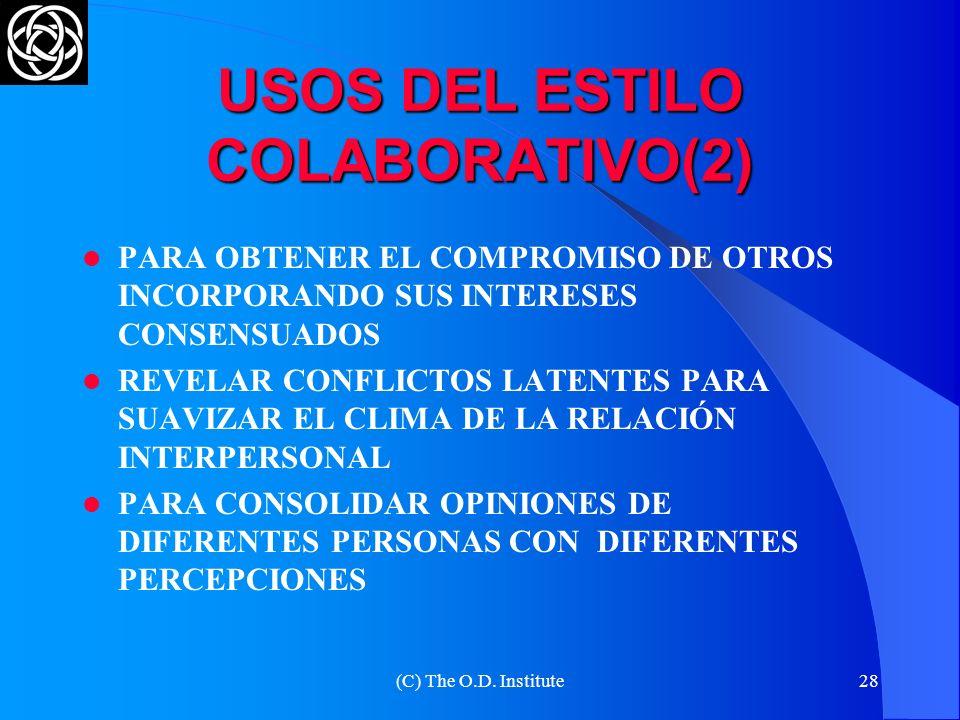 USOS DEL ESTILO COLABORATIVO(2)