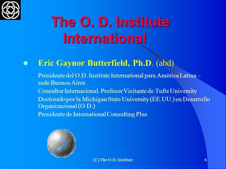 The O. D. Institute International