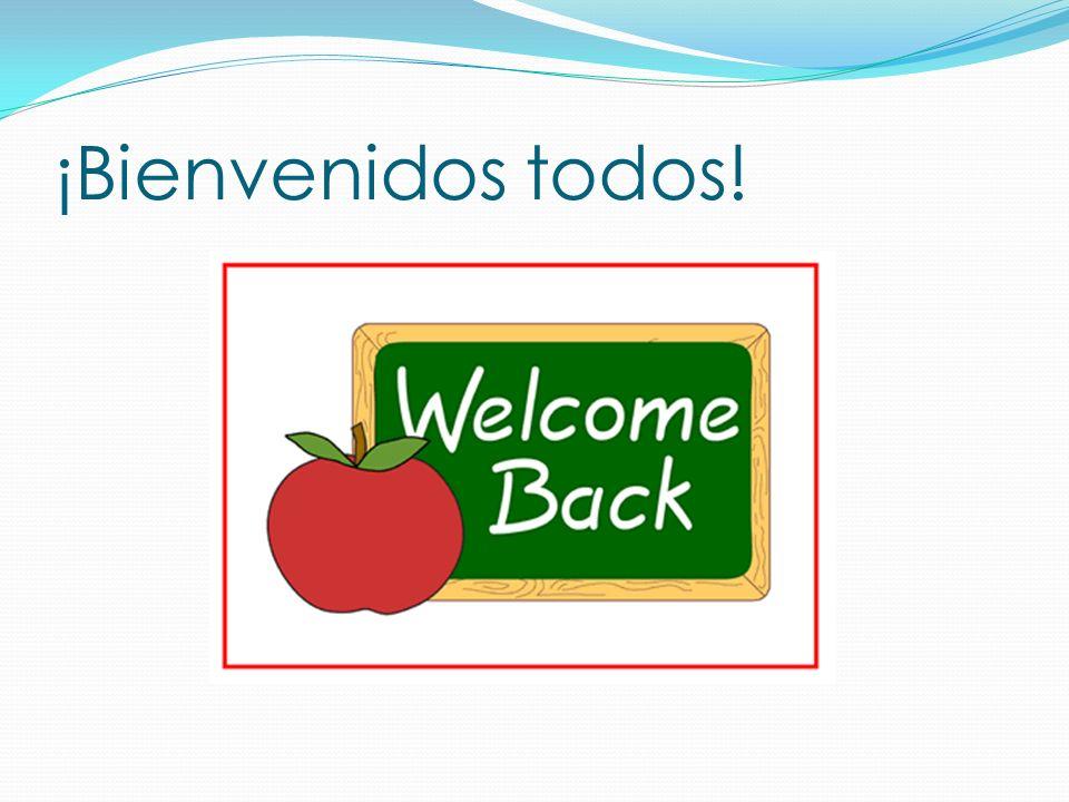 ¡Bienvenidos todos!