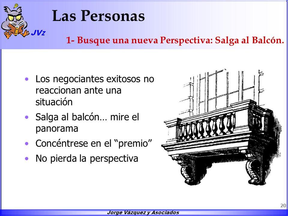 Las Personas 1- Busque una nueva Perspectiva: Salga al Balcón.