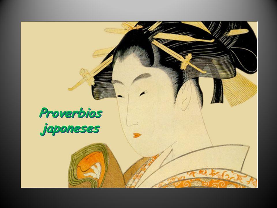 Proverbios japoneses