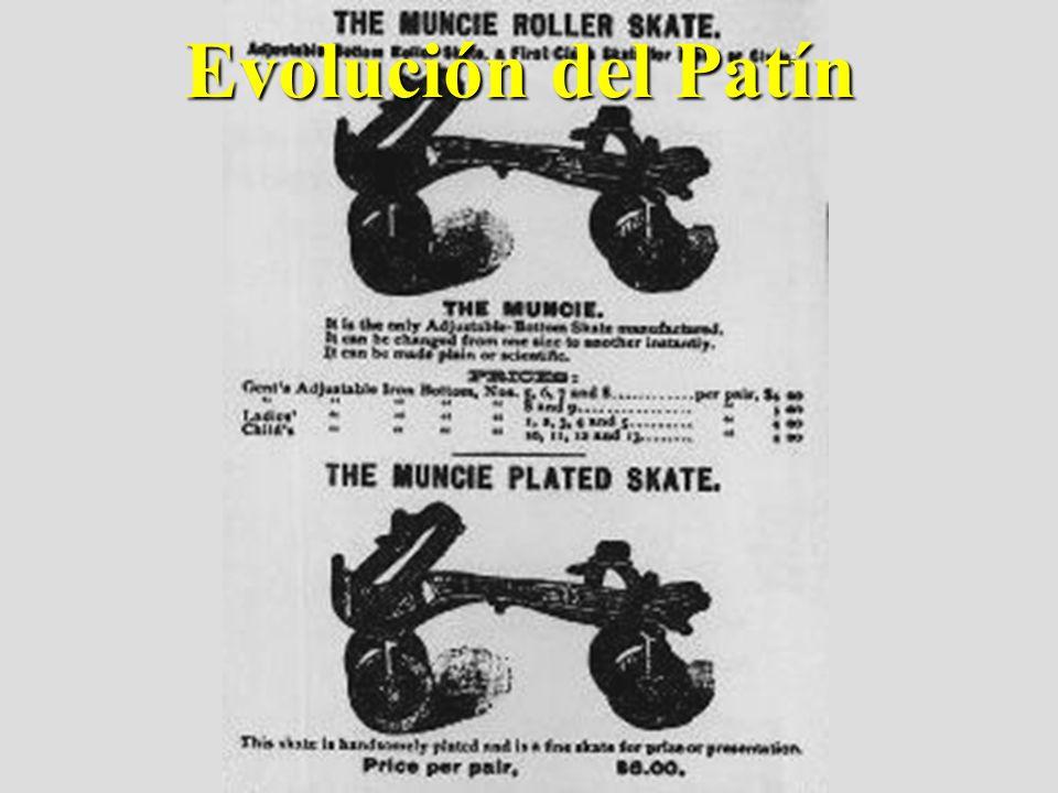 Evolución del Patín