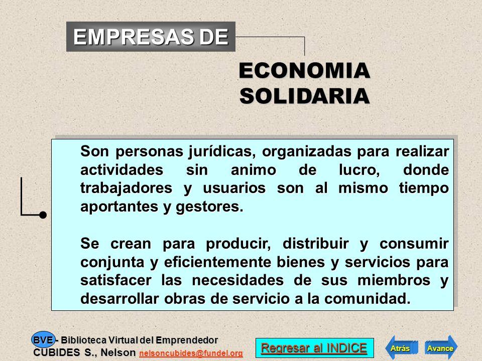 EMPRESAS DE ECONOMIA SOLIDARIA