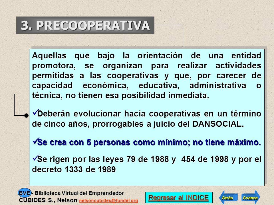 3. PRECOOPERATIVA