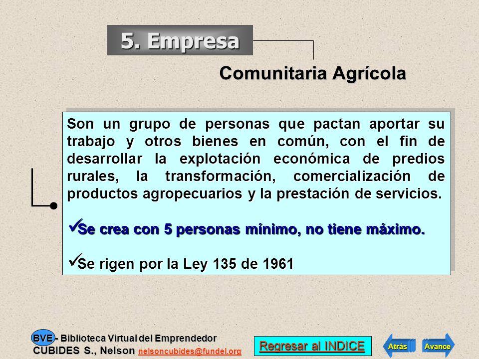 5. Empresa Comunitaria Agrícola
