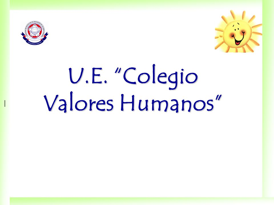 U.E. Colegio Valores Humanos
