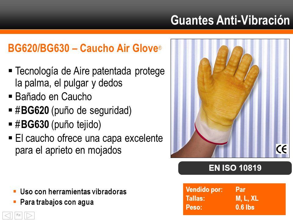 Guantes Anti-Vibración