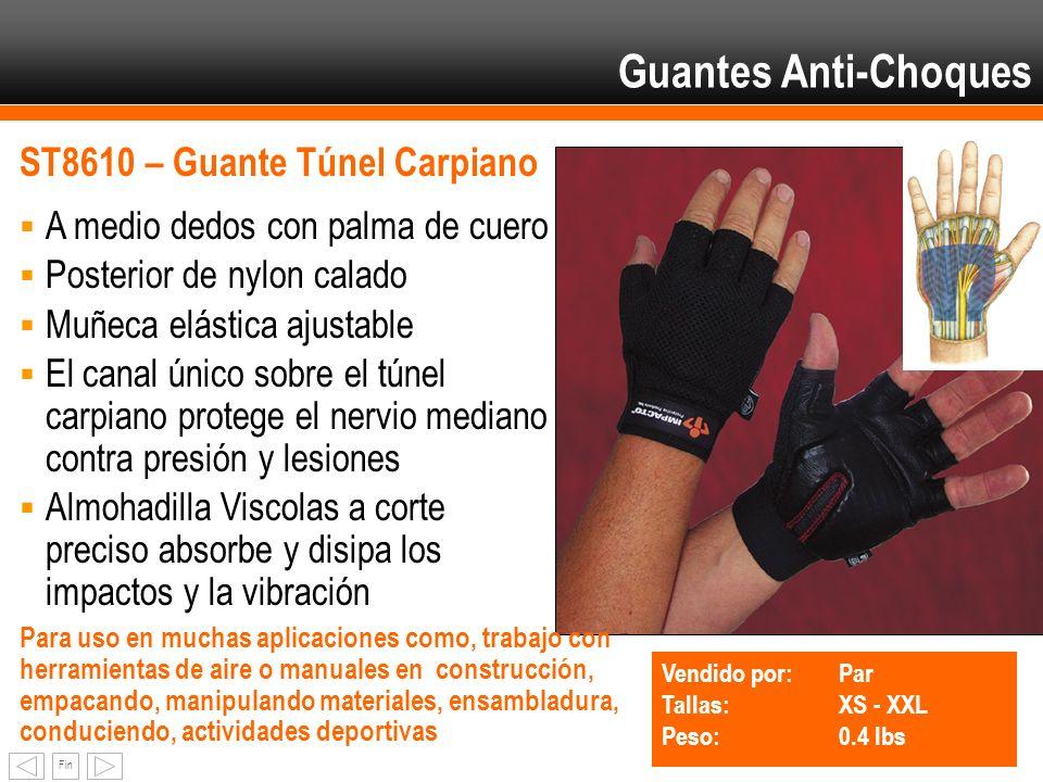 Guantes Anti-Choques ST8610 – Guante Túnel Carpiano