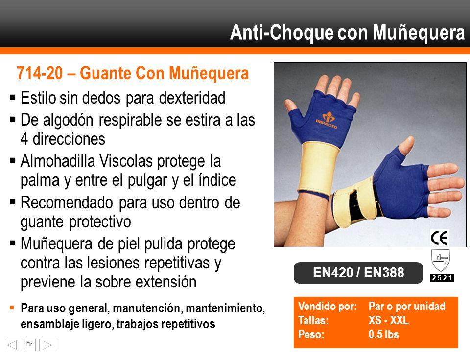 Anti-Choque con Muñequera