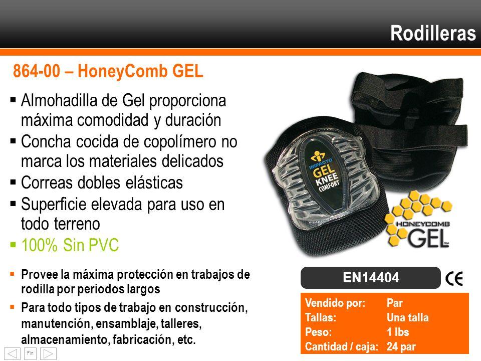 Rodilleras 864-00 – HoneyComb GEL