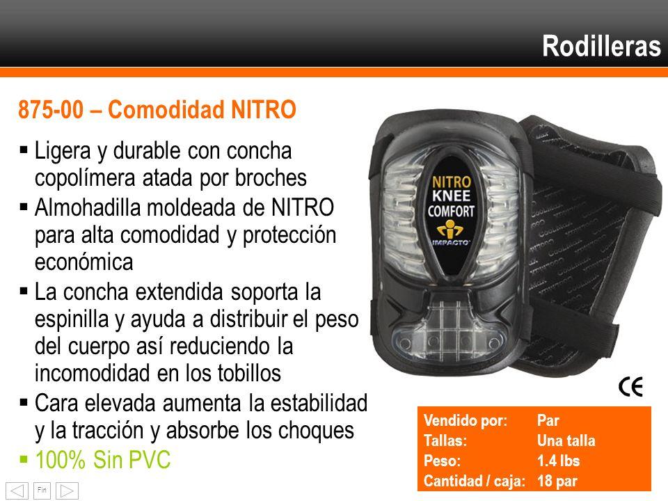 Rodilleras 875-00 – Comodidad NITRO
