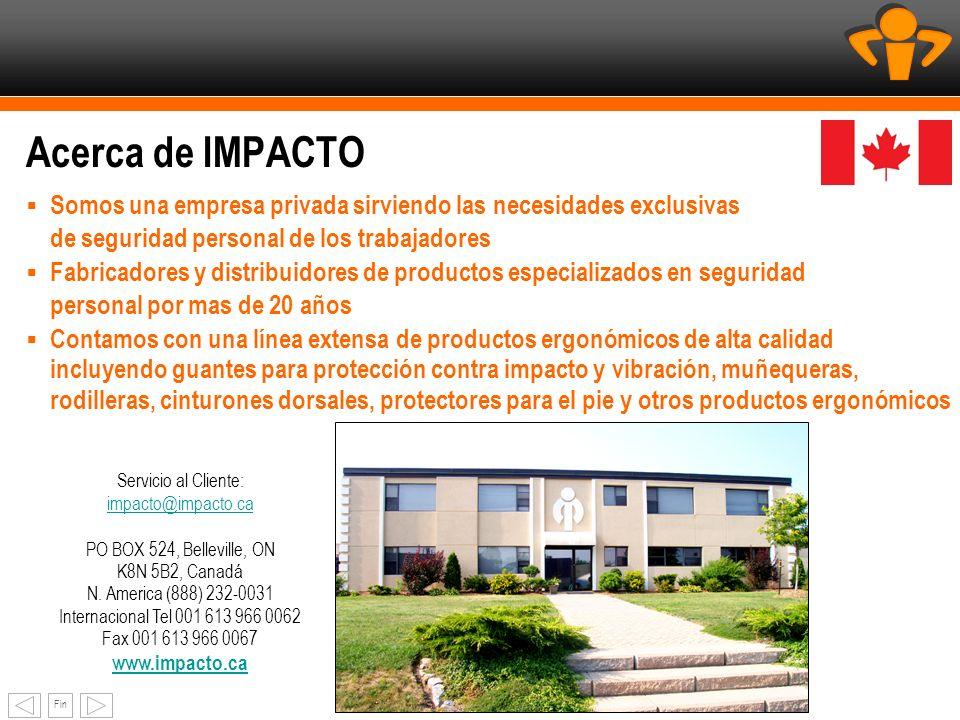 Servicio al Cliente: impacto@impacto.ca