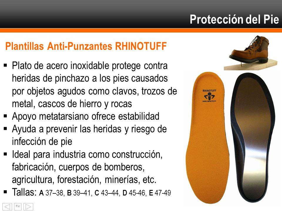 Protección del Pie Plantillas Anti-Punzantes RHINOTUFF