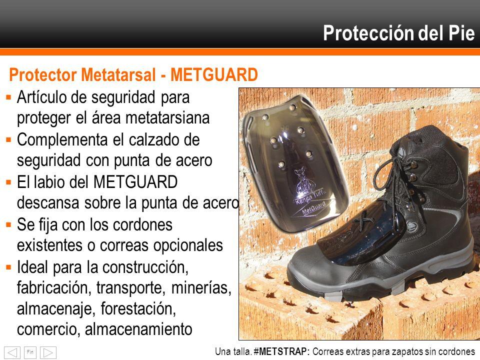 Protección del Pie Protector Metatarsal - METGUARD