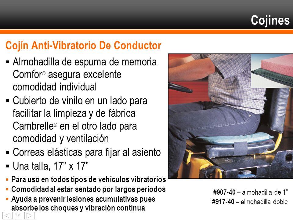 Cojines Cojín Anti-Vibratorio De Conductor