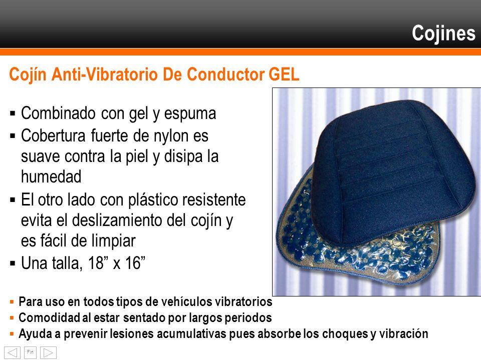 Cojines Cojín Anti-Vibratorio De Conductor GEL