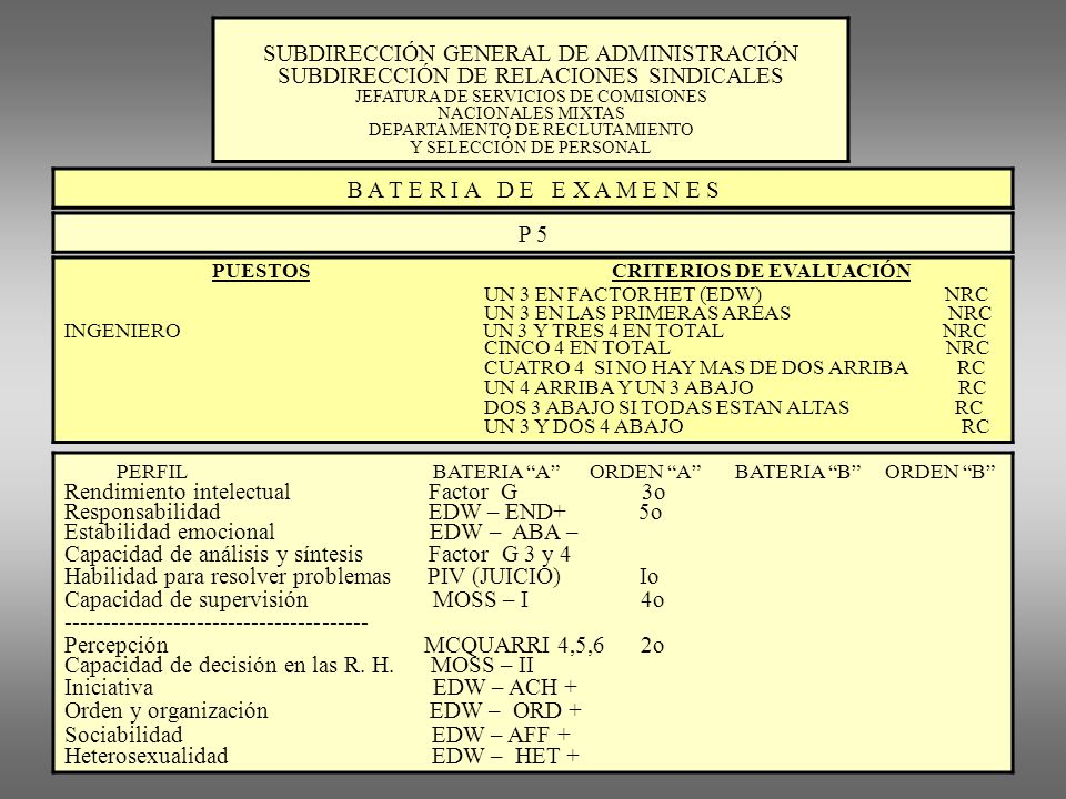 SUBDIRECCIÓN GENERAL DE ADMINISTRACIÓN