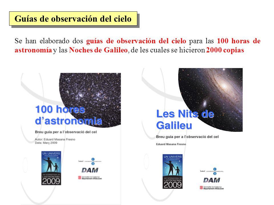 Guías de observación del cielo