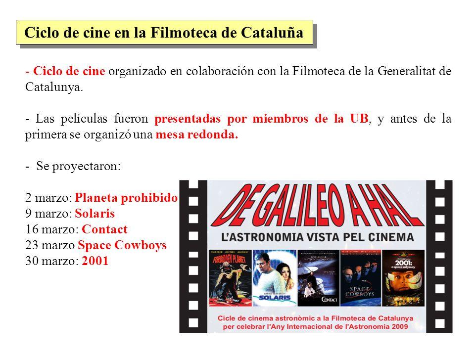 Ciclo de cine en la Filmoteca de Cataluña