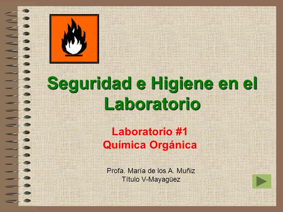 Laboratorio #1 Química Orgánica
