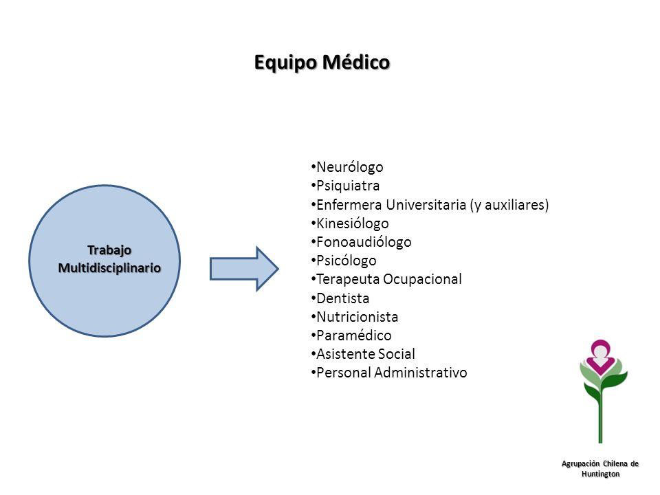 Trabajo Multidisciplinario Agrupación Chilena de Huntington