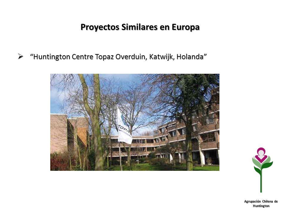 Proyectos Similares en Europa Agrupación Chilena de Huntington