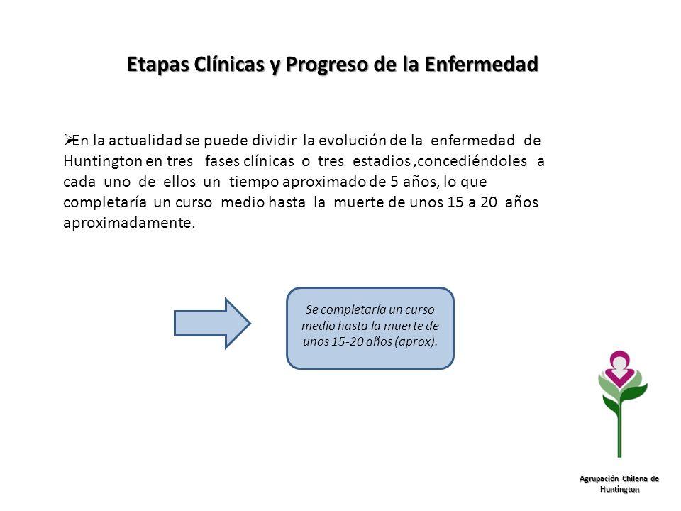 Etapas Clínicas y Progreso de la Enfermedad