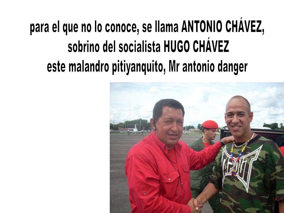 para el que no lo conoce, se llama ANTONIO CHÁVEZ,
