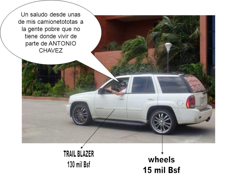 TRAIL BLAZER wheels 130 mil Bsf 15 mil Bsf