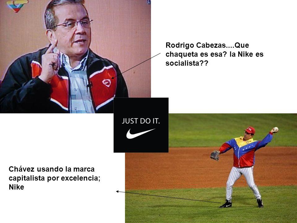 Rodrigo Cabezas....Que chaqueta es esa la Nike es socialista