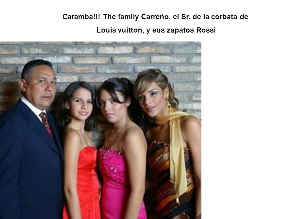 Caramba!!! The family Carreño, el Sr. de la corbata de