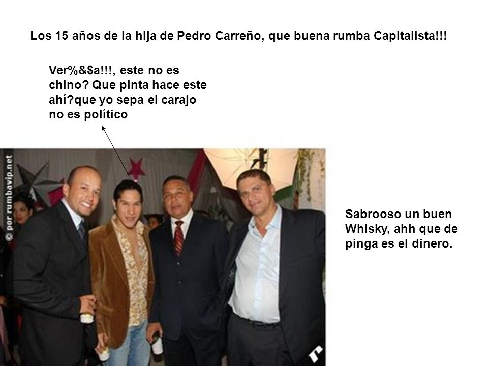 Los 15 años de la hija de Pedro Carreño, que buena rumba Capitalista!!!