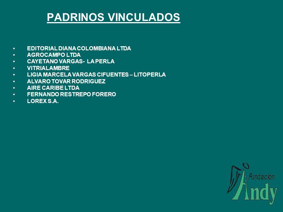 PADRINOS VINCULADOS EDITORIAL DIANA COLOMBIANA LTDA AGROCAMPO LTDA