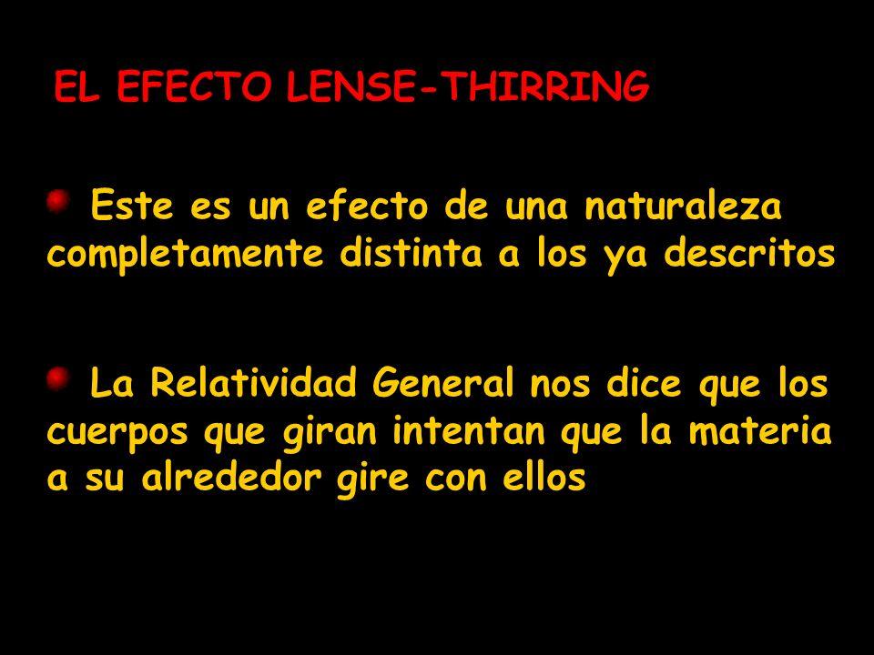 EL EFECTO LENSE-THIRRING